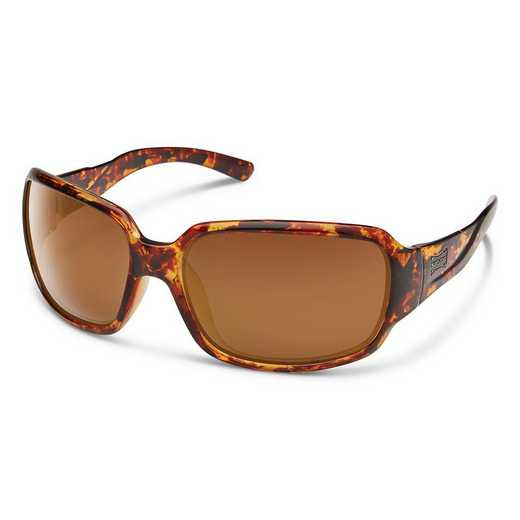 S-LAPPBRTT: Smith Suncloud Laurel Polarized Sunglasses -  Tortoise/BRN